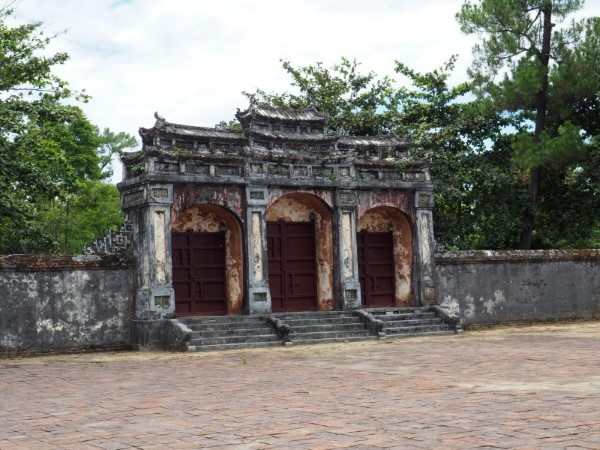 Entrance Minh Mang Tomb